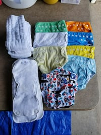 Cloth diapers (one size snaps)