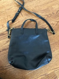 Black Leather Madewell Tote Bag Centreville, 20121