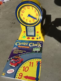 Clever Clock-learn to tell time Pleasanton