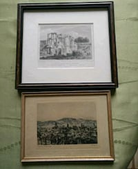 Double matted framed paintings  Vaughan, L4L 3J1