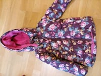lila och rosa floral zip-up hoodie Gothenburg, 414 58
