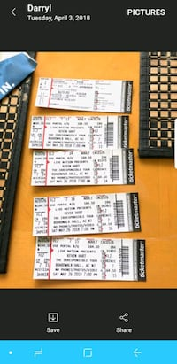 4 TicketKevin Hart Tickets in AC Sat. May 26th 7pm