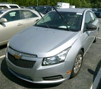 2012 Chevrolet Cruze 4 Cylinders Automatic 88 K mi Falls Church