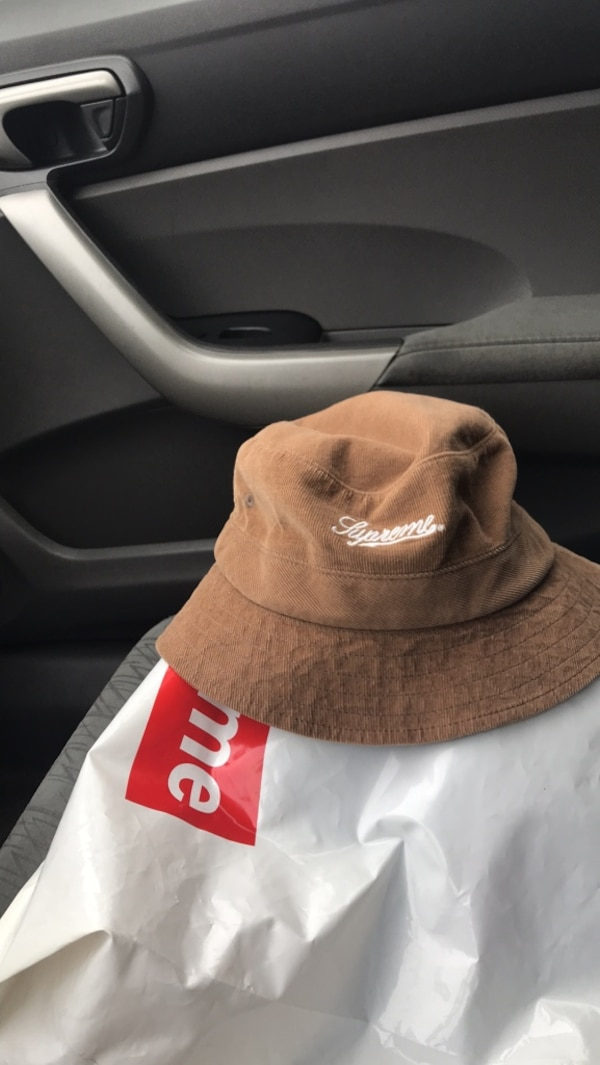 Supreme corduroy Bucket Hat. HomeOther used items in New York Other used  items in New York c2124f3d3f6
