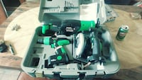 3-piece power tool set in case Hamilton, L8L 5R4