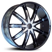 26 inch gmc Chevy Cadillac wheels and tires package . We finance