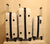 """Brand New 3 pcs Luggage 20""""24""""28"""" each suitcases 549 km"""