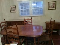 Dining room table w/4 chairs and buffet 400 Wanamassa, 07712