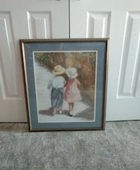 boy and girl framed picture Gaithersburg, 20878