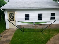 Steel Hammock Stand and Parachute Camping Hammock Duluth