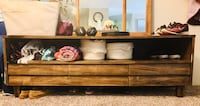 Beautiful wooden tv stand - OBO