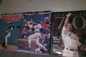 3 Baseball Books.