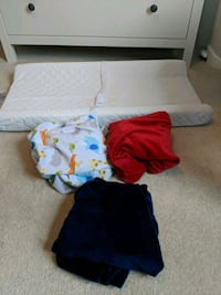 Diaper Changing Pad and three covers Herndon, 20170