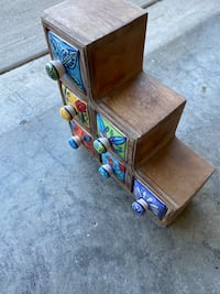 Colorful jewelry holder