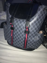 Gucci Supreme GG black backpack Martinsburg, 25404