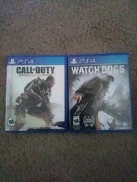 two Sony PS4 game cases Beltsville, 20705