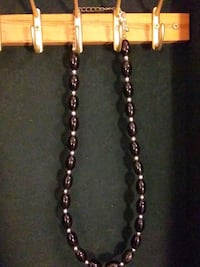 Black and gold bead necklace Portal, 30450