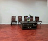 Sale/Trade Ten Brown Chair and center table $100(F Las Vegas, 89103
