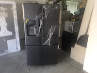 BRAND NEW in box Black and gray french door refrigerator BRAND NEW in box Claremont, 91711