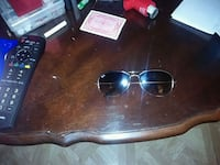 black framed Ray-Ban sunglasses Chicago