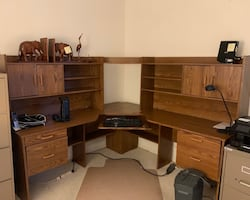 AVAIL NOW -Desk with storage- great space