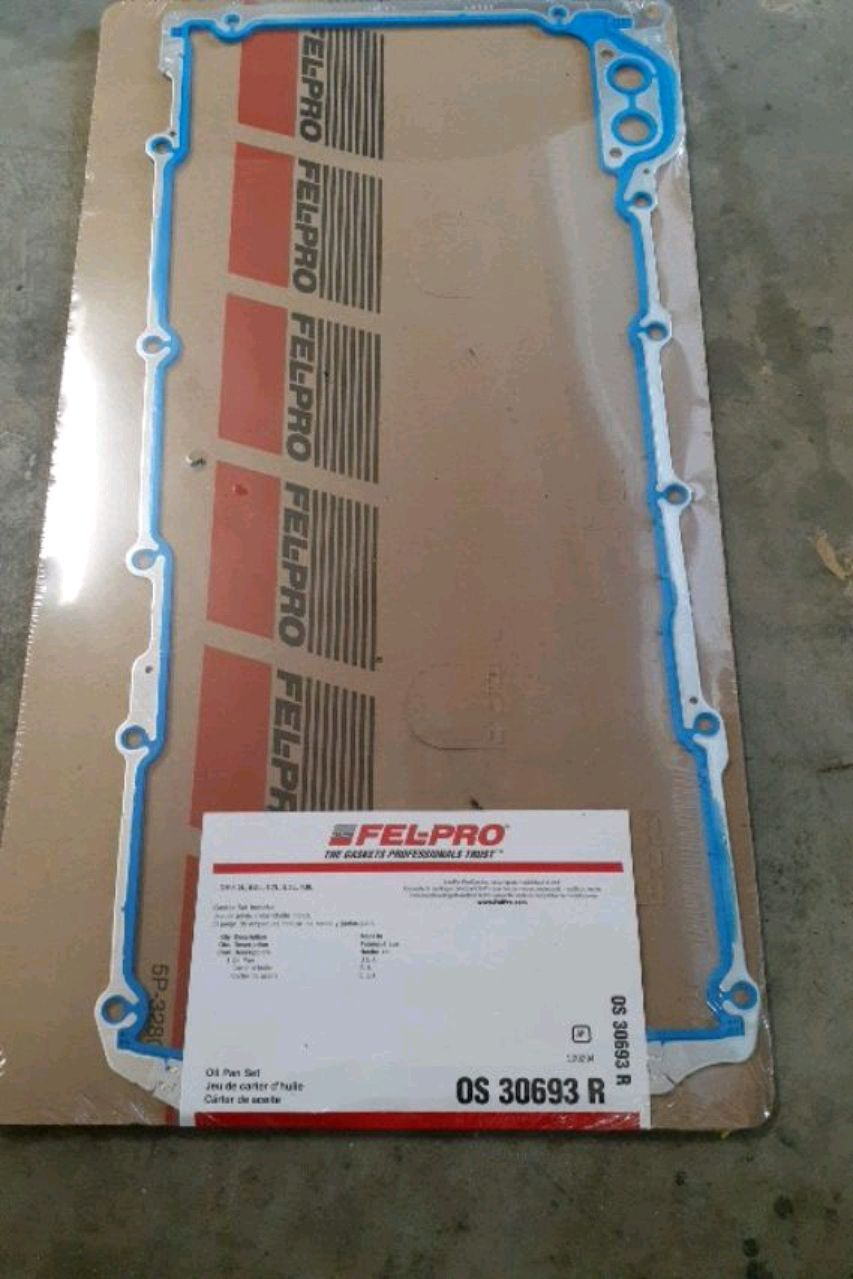 Photo Chevy, GM Oil Pan Gasket