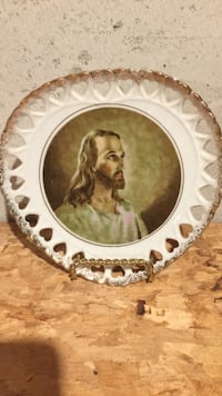 Jesus print decorative plate Fairview Heights, 62226