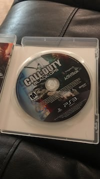 Sony PS3 Call of Duty Black Ops game disc Gaithersburg, 20877