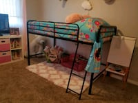 Loft bed frame without mattress (TWIN)