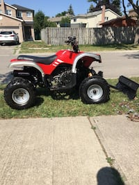 ATV- 200cc with plow & winch  Mississauga, L5N 3A4