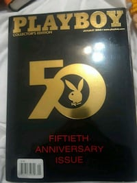 50th anniversary play boy Elizabeth, 07201