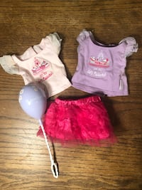 American American Girl Doll Let's Celebrate tips, tutu, & balloon Washington, 20015
