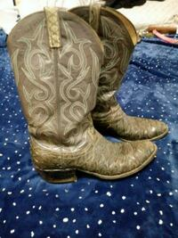 Mens size 9 authentic armadillo cowboy boots 451 mi