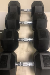 Brand new 70lb and 80lb dumbbells. Pickup or Delivery.