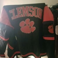 Clemson leather jacket and accessories Charleston, 29407