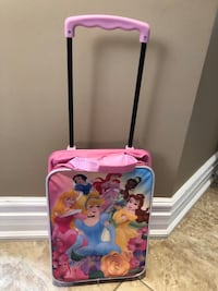 Princess soft case carryon luggage