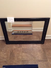 42x30 rectangular wall mirror with black frame Winchester