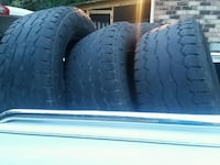 two black rubber car tires Tuscaloosa, 35405
