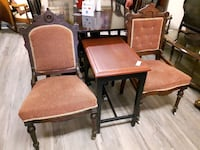 Eastlake Chairs $49.50 ea. Stainer Again Antique Furn Stayner