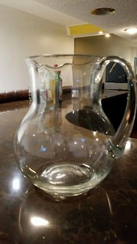 clear glass pitcher with lid Brampton, L6V 3H3