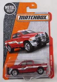 Matchbox '15 Ram 1500 Truck Fire Dept. Oklahoma City