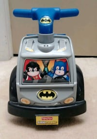 Like new Little People Batman ride on Omaha, 68154