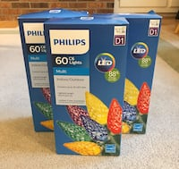 Philips Multicolor LED Christmas holiday String Lights indoor/outdoor Fairfax, 22033