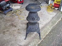WOOD STOVE FROM CABOOSE Langley