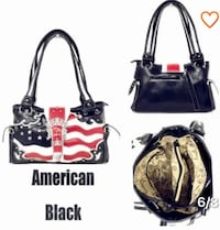 Brand New with Tags Gorgeous Leather Concealed Weapon Handbag