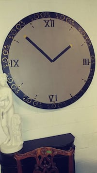 black and gray analog wall clock Middletown, 21769