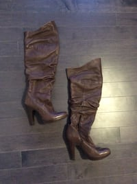 Jessica Simpson Leather Boots (7) Milton, L9T 8B9