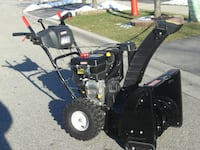 """MUST GO BY TODAY BEST OFFER OVER $800.00 LIKE NEW 24"""" CRAFTSMAN EZ STEER SNOWBLOWER WITH 277 CC OF POWER! Mississauga"""