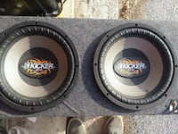 "12"" subs Veazie, 04401"