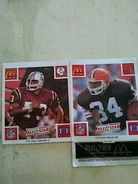 two NFL player trading cards 305 mi